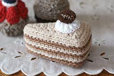 クロッシェ・パティシエのミルクレープ_かぎ針編み