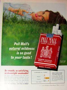 Vintage Tobacco Ad Vintage Cigarette Ad Magazine Ad  by Vinphemera, $8.00 [SOLD]