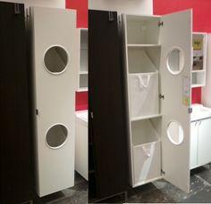 LILLÅNGEN Szennyestartó Szekrény, Fehér | Bathroom Laundry, The Laundry And  Armoires Part 11