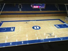 Duke Basketball Court