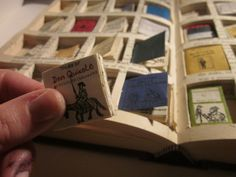 tiny books within a book