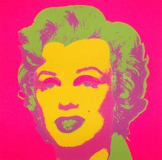 Marilyn Monroe 21- Andy Warhol