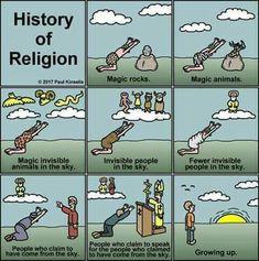 Religion evolves as well...