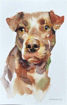 "Daily Paintworks - ""adopt100"" - Original Fine Art for Sale - © Katya Minkina"