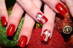 nice 2013 acrylic nail designs christmas http://gelnaildesignspic.com/2013-acrylic-nail-designs-christmas/