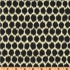 Waverly Seeing Spots Sateen Noir