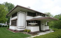 prairieschoolarchitecture: Frank Lloyd Wright, Dr. G.C. Stockman House, Mason City, Iowa, 1908