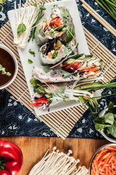... on Pinterest | Soba Noodles, Noodle Bowls and Vegetable Spring Rolls
