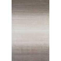 Hand-tufted Manhattan Ombre Taupe Wool Rug (3'3 x 5'3) - Overstock™ Shopping - Great Deals on 3x5 - 4x6 Rugs