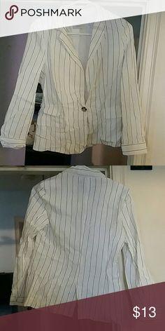 Pin striped blazer Nice Pin stripped blazer love tree Jackets & Coats Blazers