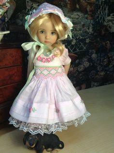 Dianna Effner Little Darling Doll Custom 'Smocked Roses' Ensemble | eBay