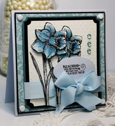 Handmade Card  Greeting Card  Best Wishes  by CardInspired on Etsy, $4.50