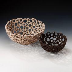 """ceramic """"reef bowls"""" Ellul ceramics"""