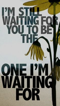 The One I'm Waiting For by Relient K // one of the biggest records of my teen years.