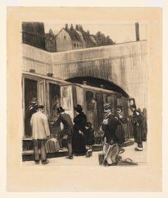 Edward Hopper -  The Railroad, 1906