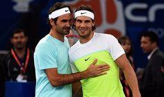Rafael Nadal Pips Roger Federer Twice at IPTL 2015 - http://www.tsmplug.com/tennis/rafael-nadal-pips-roger-federer-twice-at-iptl-2015/