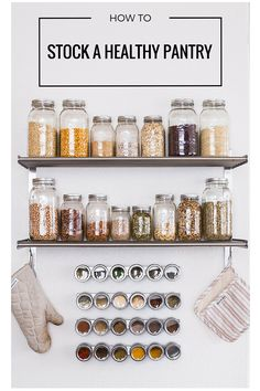 How to Stock a Healthy Pantry   makingthymeforhealth.com