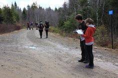 Navigation and running, the two essential components in the Eco-Endurance Challenge.
