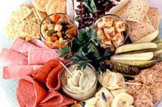 This Antipasto Tray is the perfect addition to any potluck.  The five different recipes create a delicious antipasto tray, with something for everyone.