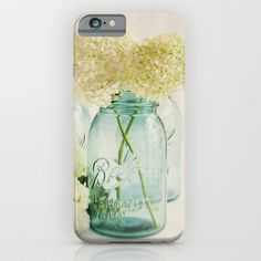 Hydrangea Whisper iPhone & iPod Case