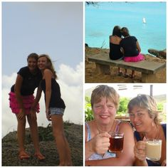 Ans op Curacao, dagje banda abou met Jasmijn en Zjakira
