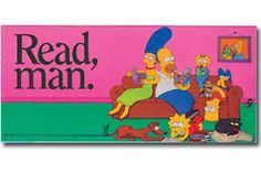 Simpsons Bookmark - Products for Young Adults - Bookmarks - Products for Children - ALA Store