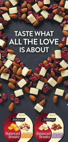 Take it from the people who know cheese, our Balanced Breaks® Snacks are the perfect balance of Sargento® natural cheeses with just the right amount of dried fruits and nuts. Snacking made easy. Be sure to look for Balanced Breaks® Snacks in a dairy case nearest you.