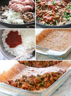 Sicilian Rice Ball Casserole   Skinnytaste