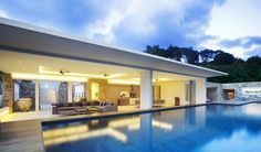 Situated on a serene corner plot of the luxury villa resort, the five bedroom, five bathroom holiday home is flooded with fresh contemporary...