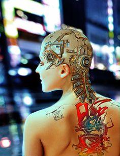 Cyberpunk artworks gallery - Page 31 Cyberpunk 2020, Arte Cyberpunk, Science Fiction, Female Cyborg, Steampunk, Post Apocalyptic Fashion, Arte Robot, Robot Girl, Ghost In The Shell