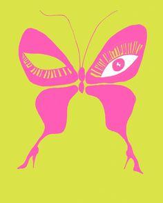 Butterflie eye