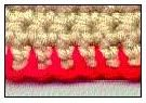 How To Do A Blanket Stitch Edging - Tutorial