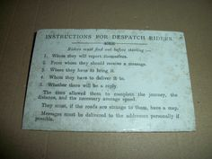 ORIGINAL 1913 ULSTER VOLUNTEER FORCE MEMBERSHIP CARD DESPATCH RIDING UVF IRISH in Collectables, Memorabilia, Historical | eBay