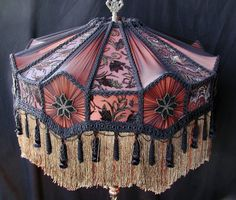 Victorian Vintage Lamp Shade