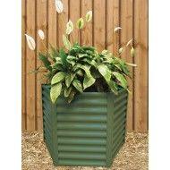 Hexies Hexagonal Raised Garden Bed LGE 65cm WIDTH X 73cm HEIGHT Wilderness Green