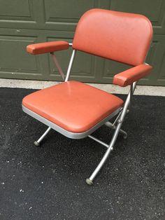 1940's warren mcarthur chair Vintage Furniture, Modern Furniture, Magazine Stand, Folding Chair, Dividers, Annie, Shelving, Home Goods, Home Decor