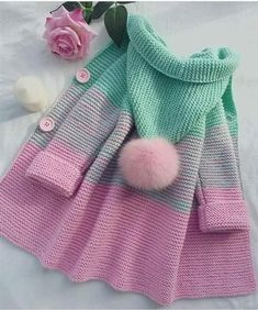 Chunky cardigan child's - Knitting Best
