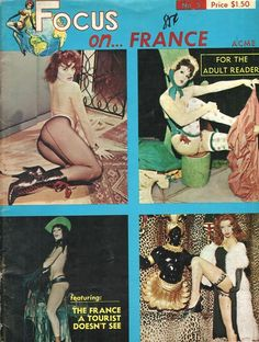 Focus On vol 1 no 5 1965 vintage adult straight magazine collectible