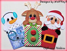 Elite 4U tarjeta de regalo de Navidad juntar las piezas de papel de Scrapbook página prefabricados Mat Set wolffey 5
