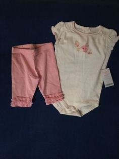NWT Gymboree 6-12 Months Girl's Two Piece Outfit Set #Gymboree
