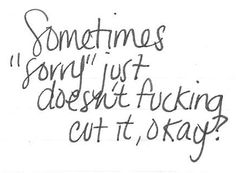 sometimes, sorry just...
