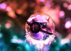 The Pokeball of Espeon II by wazzy88.deviantart.com