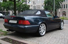 "Mercedes-Benz SL-Class (R129) - Brabus E 19""                              …"