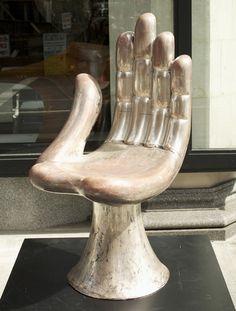 -Pédro Friedeberg-  'Hand'   (1963)