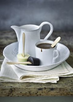 I love this as an idea for hand tempered flavoured hot chocolates!