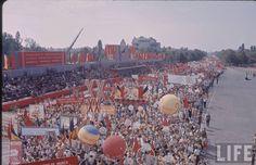 El ultimo 23 de agosto, antes del golpe de estado de diciembre de 1989: 45 Aniversario de la Revolución Social, Nacional,Antifascista y Antimperialista de Rumania Dolores Park, The Past, History, Retro, Travel, Life, Socialism, The Sting, Romania