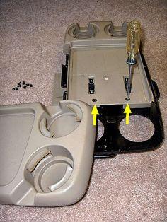 2004 Honda Odyssey Cup Holder Fix