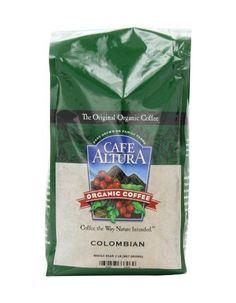 Cafe Altura Organic Colombian Whole Bean Dark Roast Coffee 80oz - Best Quality Coffee