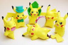 """Pokemon Pikachu Many Collection Figure Part.2 Complete Set"" Takara Tomy"
