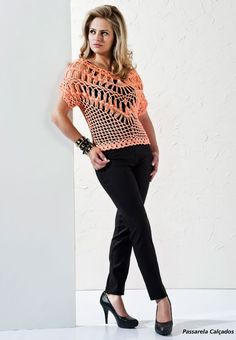 Hairpin Crochet Pullover Pattern
